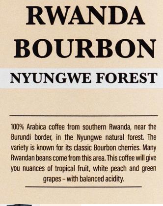 Rwanda Bourbon – Nyungwe