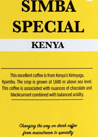 Simba Special – Kenya