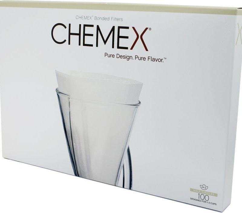 Chemex filter, 3 cup coffeemaker, 100 pcs