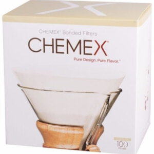 Chemex filter, 6, 8 and 10 cup coffeemaker, 100 pcs