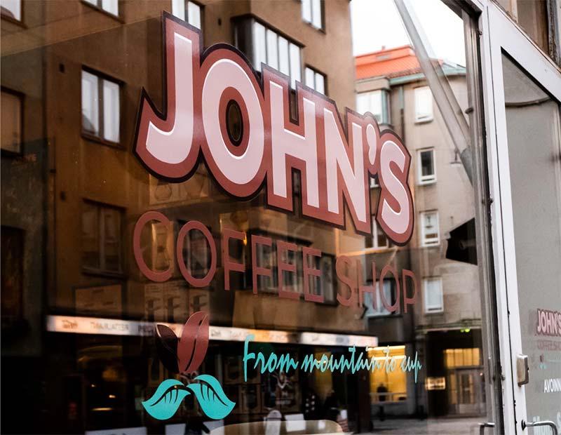 John's coffee