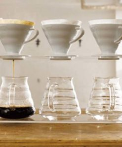 Coffee Filter Ceramic White