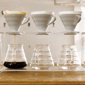 Hario V60 coffee filter 02 ceramic / white