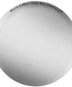JoeFrex metallic brewing filter for AeroPress
