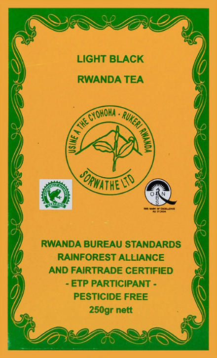 Light black Rwanda Tea 250 g