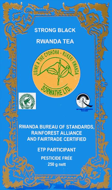 Strong black Rwanda Tea 250 g