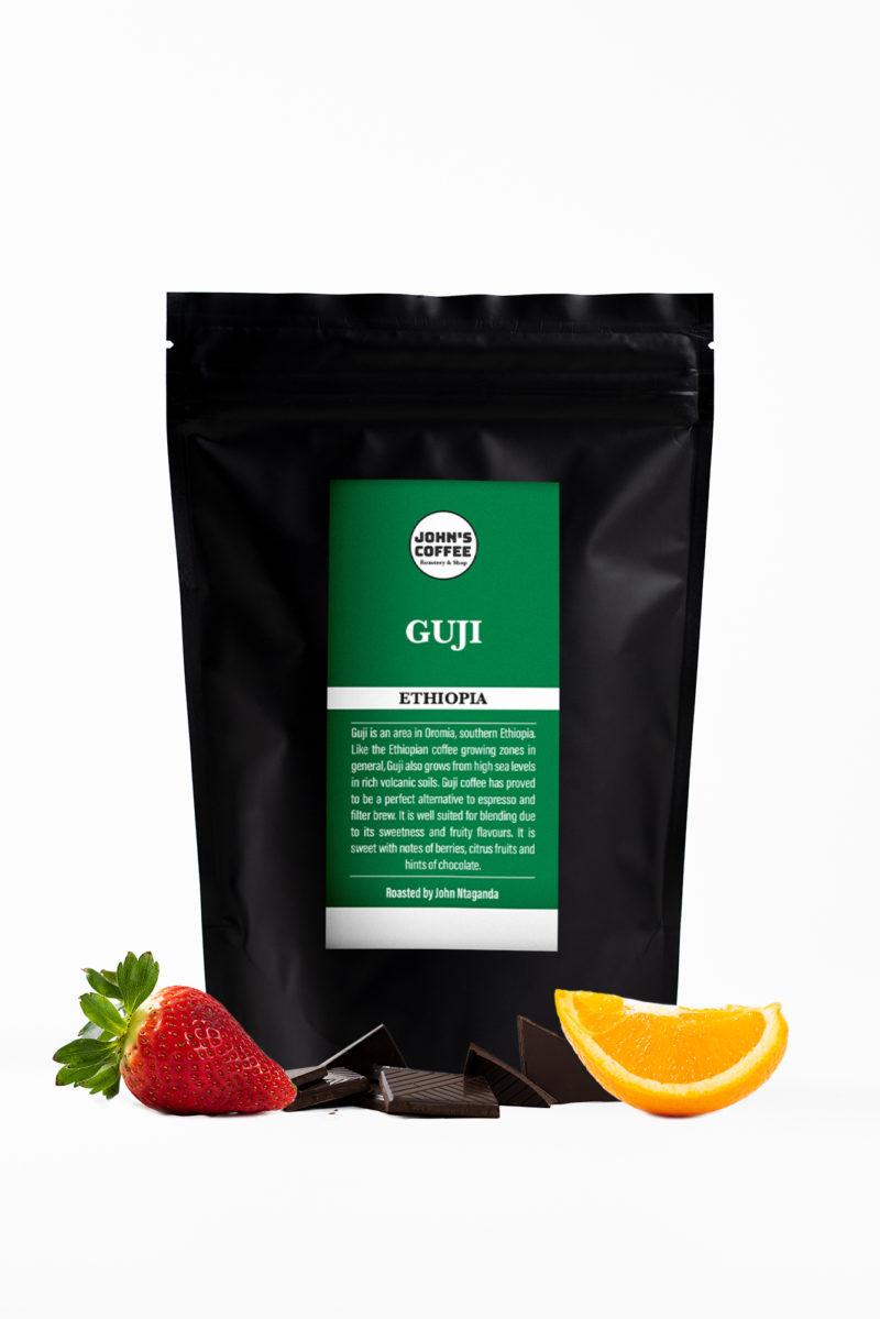 Etiopian Guji kahvi