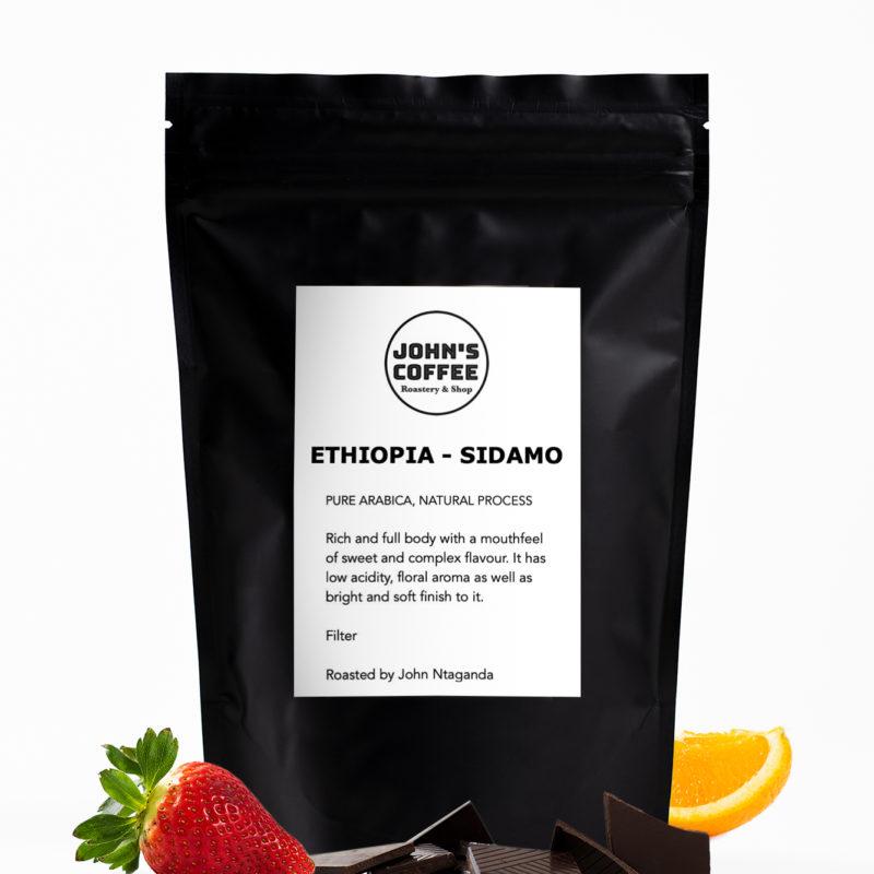 Etiopian Sidamo kahvi